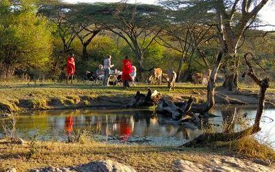 Walking Safaris in Kenya – Maasai Trails