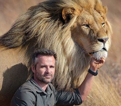 Kevin Richardson, the 'Lion Whisperer'