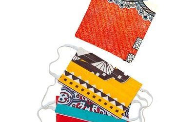 Tribal Textiles Zambia – NEW Face Masks For Sale